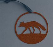 Fox oxidised finish