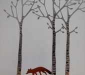 Silver Birch (and Fox)